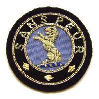 Blazer badge of hte Seaforth Highlanders