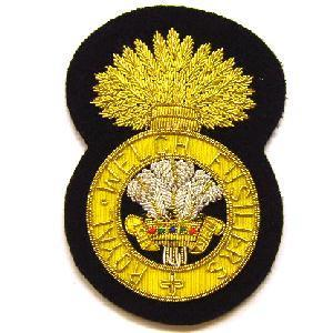 The Welch Fusiliers Blazer badge