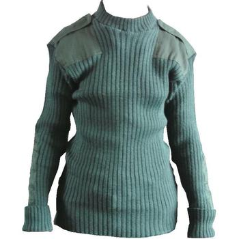 Bottle Green Land army style jumper