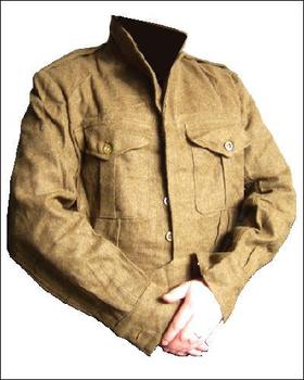 Battle Dress WWII Un Issued Genuine British Battle Dress Blouse