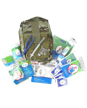 Deluxe BTP First Aid Kit Pouch with fold Main Compartment BTP Molle Pouch