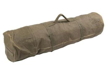 Canvas Cot Bed Bag / Holdall Duffle bag for Army Camp bed Used