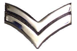 Pin on Chrome  Corporal Stripe