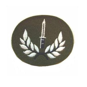 Infantry Soldier Badge with SA80 Bayonet on, Class 1