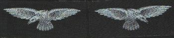Royal Air Force Printed Shoulder Title WW2 Style