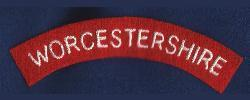 The Worcestershire Regiment Shoulder Title