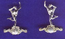 Collar Badges of the Royal Signals Metal