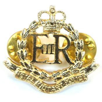 Collar badge Royal Military Police (pair)