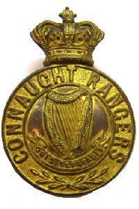 Connaught Rangers Glengarry badge