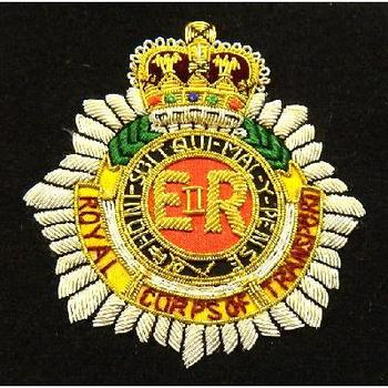Blazer Badge of the Corps of Transport