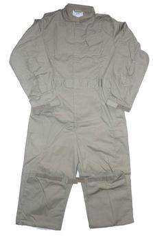 RAF Stone Coveralls Stone Lightweight Men's Military Issue Overall Boilersuit, As New
