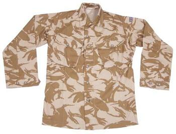 Desert Tropical Combat Shirt New Genuine British Soldier 95 / 2000 Issue