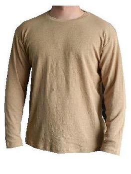 Long Sleeve Thermal Vest New Genuine British Army issue Desert Sand Top