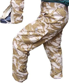 Desert Windproof Trousers New Camo issue Windproof trousers
