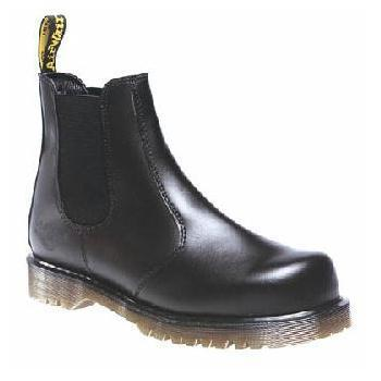 Dr Martens Airwair Industrial Safety Toe Slip on Dealer Chelsea Boot (DM609A)