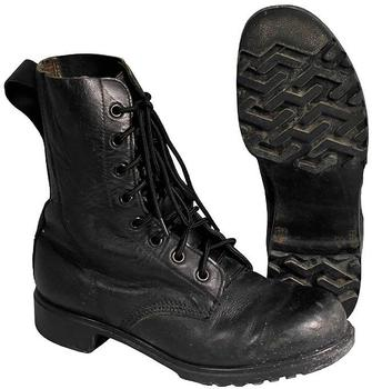 DMS Combat Boots, Genuine British Army Old style Hi Leg Boots ...