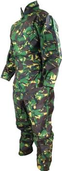 Adult Flying Suit, Woodland DPM Camo Boilersuit, Coverall  With Badge