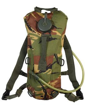 DPM Hydration Pack New Woodland Camo 2 Litre Aqua Water Bladder