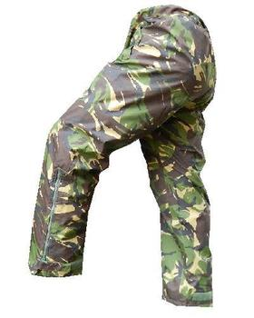 MVP DPM Wet Weather Trousers New Genuine Military Issue Woodland Camo Goretex 85/112/128