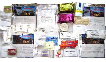Dutch Military ROEK Extreme Cold Weather 24 Hour Ration Packs, New Sealed