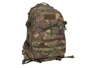 Dutch DPM Back Pack 35 Litre Woodland Camo Tactical Day Pack Used Graded