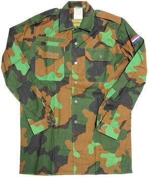 Jungle Shirt Dutch Military Issue Jungle Camo Lightweight Tropical Shirt - New
