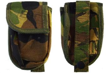 DPM Combi Pouch Genuine Dutch DPM Camo Military Issue Molle / Modular Knife Pouch