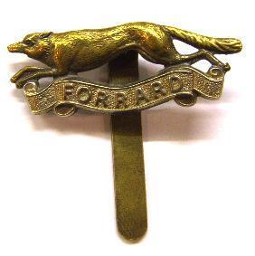 East Riding Yeomanry (1920-56) Regimental Cap Badge
