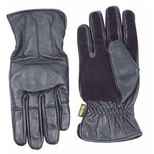 Kevlar Gloves, New Black Leather Viper Enforcer gloves
