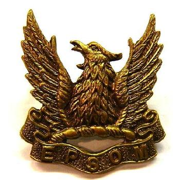 Epsom OTC school Cap badge