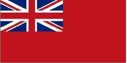 Red Ensign Flag 5´ x 3´