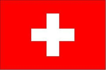 Switzerland Flag New Polyester 5' x 3' Flag of Switzerland