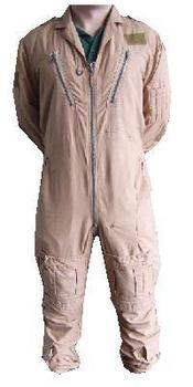 Flying Suit, RAF Desert / Sand Aircrew Coverall Grade 1 Suit MK1B / MK14B / MK16B - No Knee Pocket