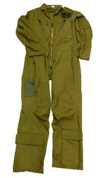 Flying suit Olive green RAF Airforce / Aircrew, MK14B / MK15B No Knee Map Pocket