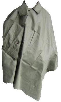 Rubberised Gas cape Genuine Army issue issued Rubberised Gas cape