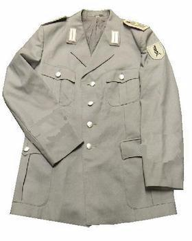 West German Military Tunic - Light Grey Jacket, Great for fancy dress