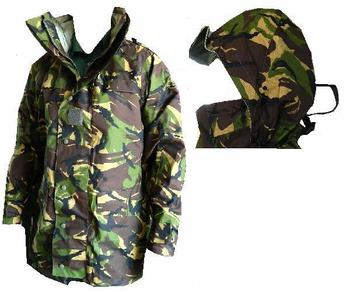 Goretex DPM MVP Jacket, New Military Issue Waterproof Woodland Camo jacket