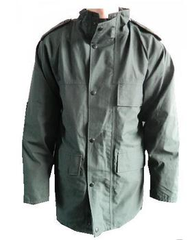 PSNI NI Police Service Unlined Green Goretex Jacket with Lower pockets