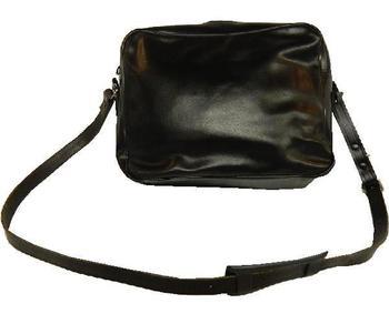 Black WRAF Ladies Handbag ~ Leather Uniform Shoulder bag 02e5401b0a3a1