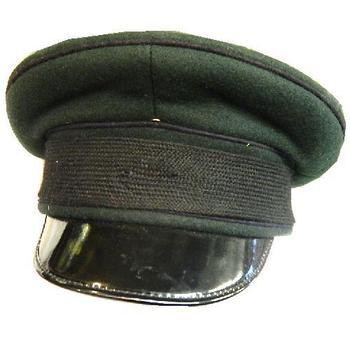 0be30a99f5c Royal Green Jackets Dark Green Peaked Uniform Hat Cap