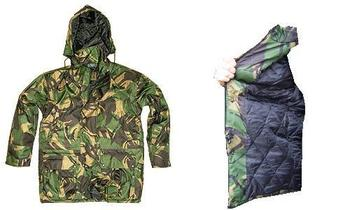 Waterproof Camo Jacket Hunter Warm Quilted Woodland Camo with A 5000 HH