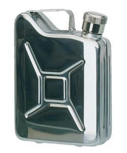Hip Flask, New Steel 170ml Jerry Can Hip Flask for Emergencies!