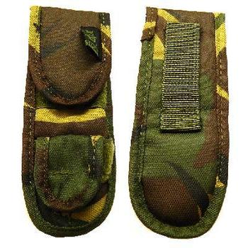 Woodland Camo Highlander Mini Torch Pouch