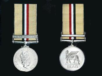 Campaign Medal For Opertation Telic