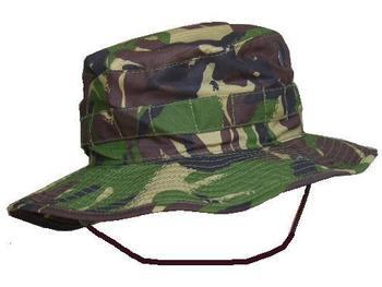 Boonie Bush Hat British Army Issue Woodland DPM,Genuine Military Issue, New
