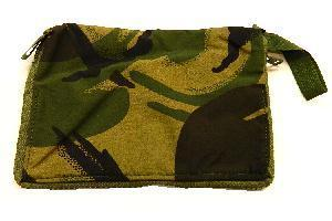 Genuine Army Issue Woodland Camo DPM note book cover