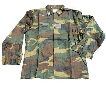 Italian Woodland Camo Shirt - Genuine military issue