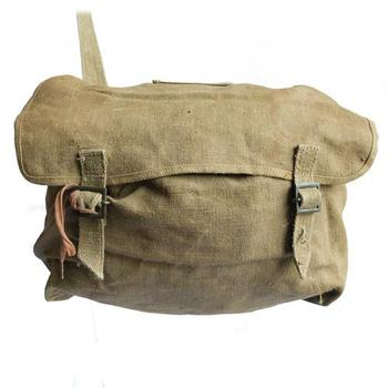 Canvas Bread Bag Italian Vintage Side Bag Genuine Post war 1950's Kit