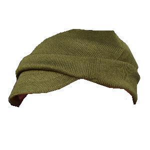 Jeep Cap, Genuine Italian Military Issue Dirty Dozen Olive Wool peaked Ski Jeep cap