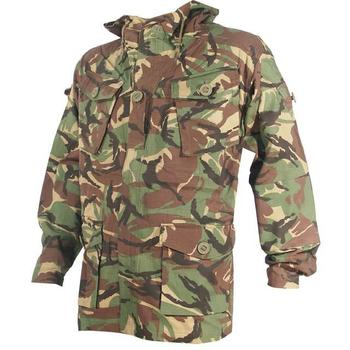 Woodland Camo Hooded Smock, soldier 95 Style rip stop Smock / jacket - JAC003